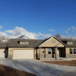 New Home with stone and stucco